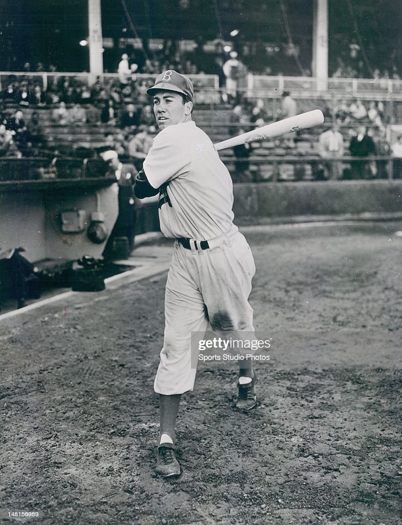 Brooklyn Dodger <a gi-track='captionPersonalityLinkClicked' href=/galleries/search?phrase=Duke+Snider&family=editorial&specificpeople=93319 ng-click='$event.stopPropagation()'>Duke Snider</a> photographed in 1949.