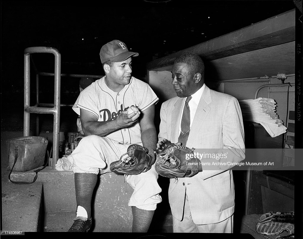 roy campanella at forbes field pictures getty images brooklyn dodgers baseball player roy campanella speaking william p young former homestead grays