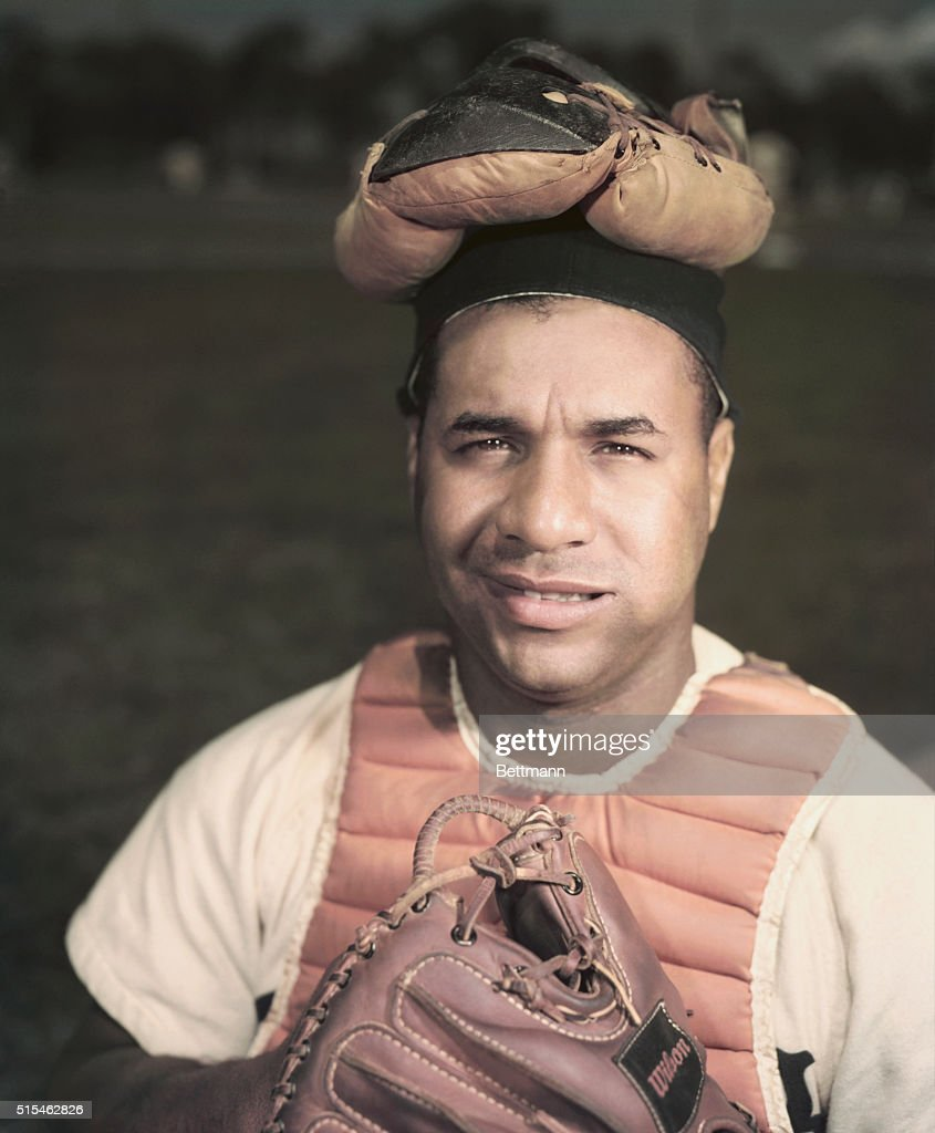 Brooklyn Dodgers' Catcher Roy Campanella