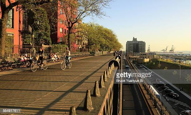 Brooklyn Heights Promenade in Spring