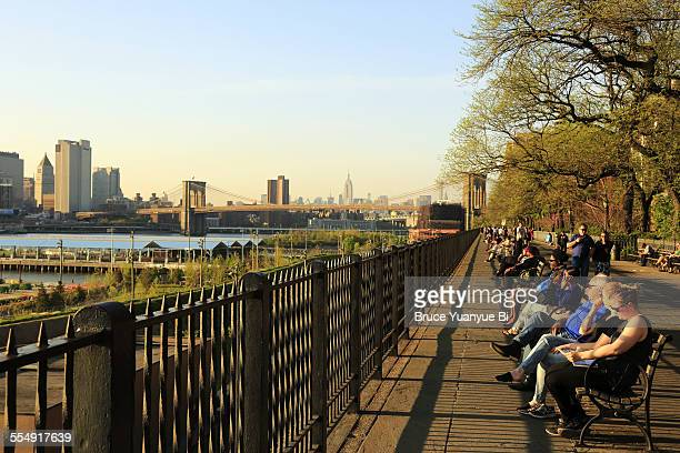 Brooklyn Heights Promenade in Spring