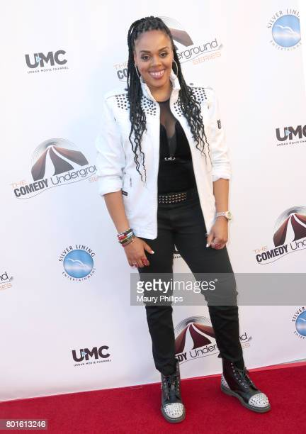 Brooklyn Jones attends The Comedy Underground Series at The Alex Theatre on June 26 2017 in Glendale California