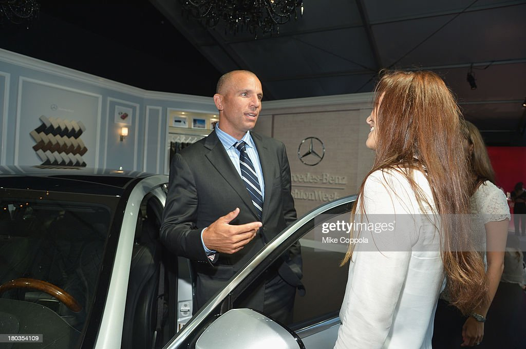 Brooklyn Nets Head Coach Jason Kidd attends the Mercedes-Benz Star Lounge during Mercedes-Benz Fashion Week Spring 2014 on September 11, 2013 in New York City.