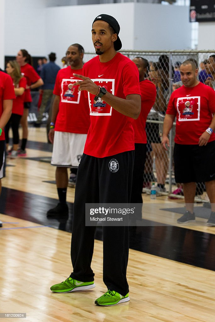 Brooklyn Nets player Shaun Livingston attends Dodge Barrage 2013 at Pier 36 on September 19, 2013 in New York City.