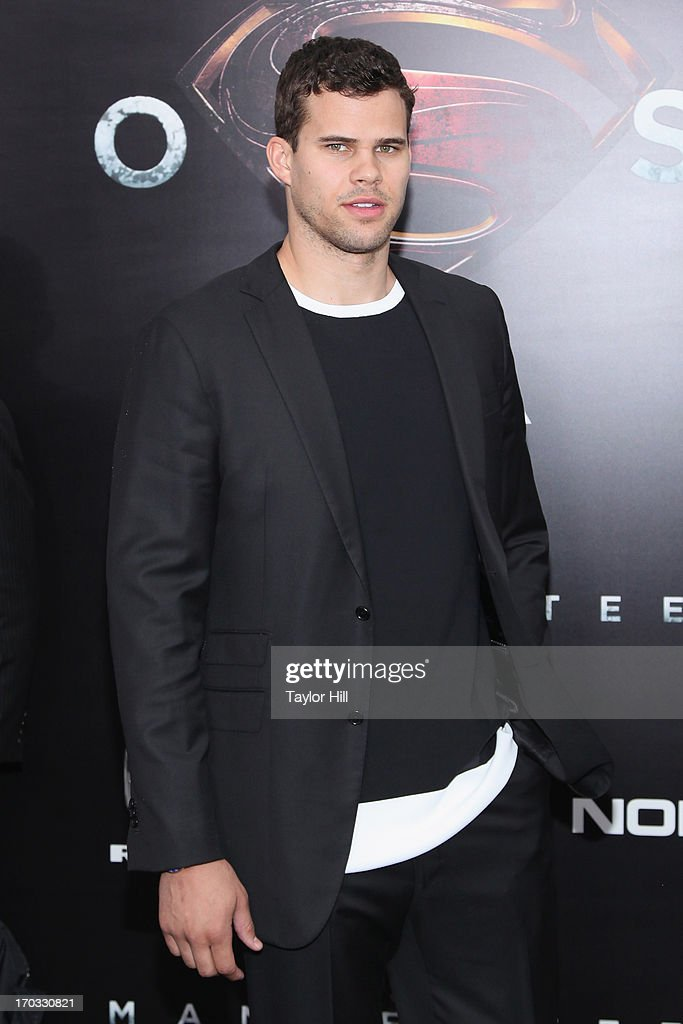 Brooklyn Nets power forward Kris Humphries attends the 'Man Of Steel' World Premiere at Alice Tully Hall at Lincoln Center on June 10, 2013 in New York City.