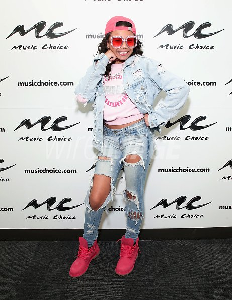 Brooklyn Queen visits Music Choice at Music Choice on April 26 2018 ...