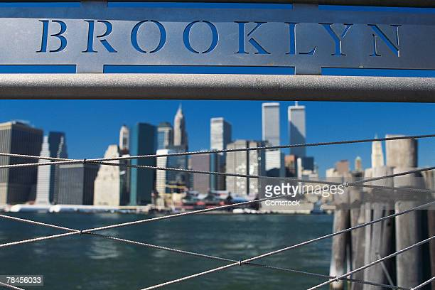 Brooklyn sign , New York City , USA
