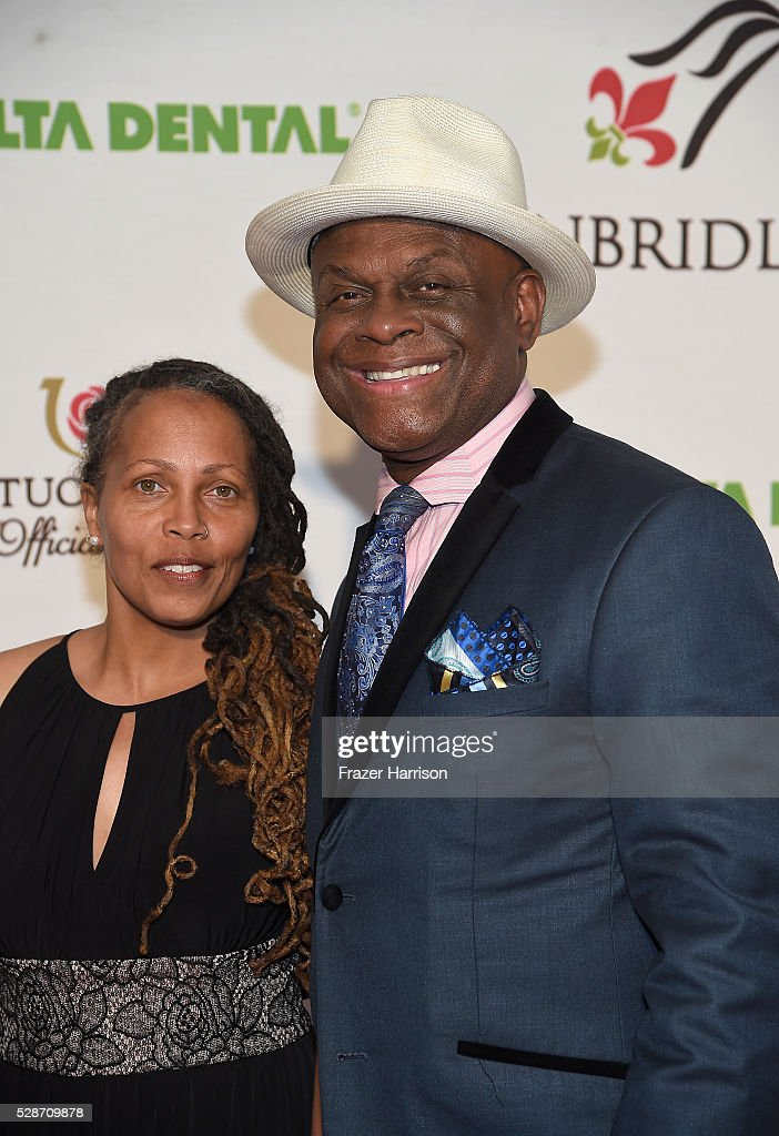 Brooks Jackson and actor Michael Colyar attend Unbridled Eve Gala during the 142nd Kentucky Derby on May 6 2016 in Louisville Kentucky