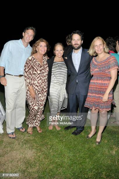 Brooks Judy Licht Katie Couric Paul Rudd and Julie Rudd attend THE CINEMA SOCIETY with VANITY FAIR HUGO BOSS host the after party for 'DINNER FOR...