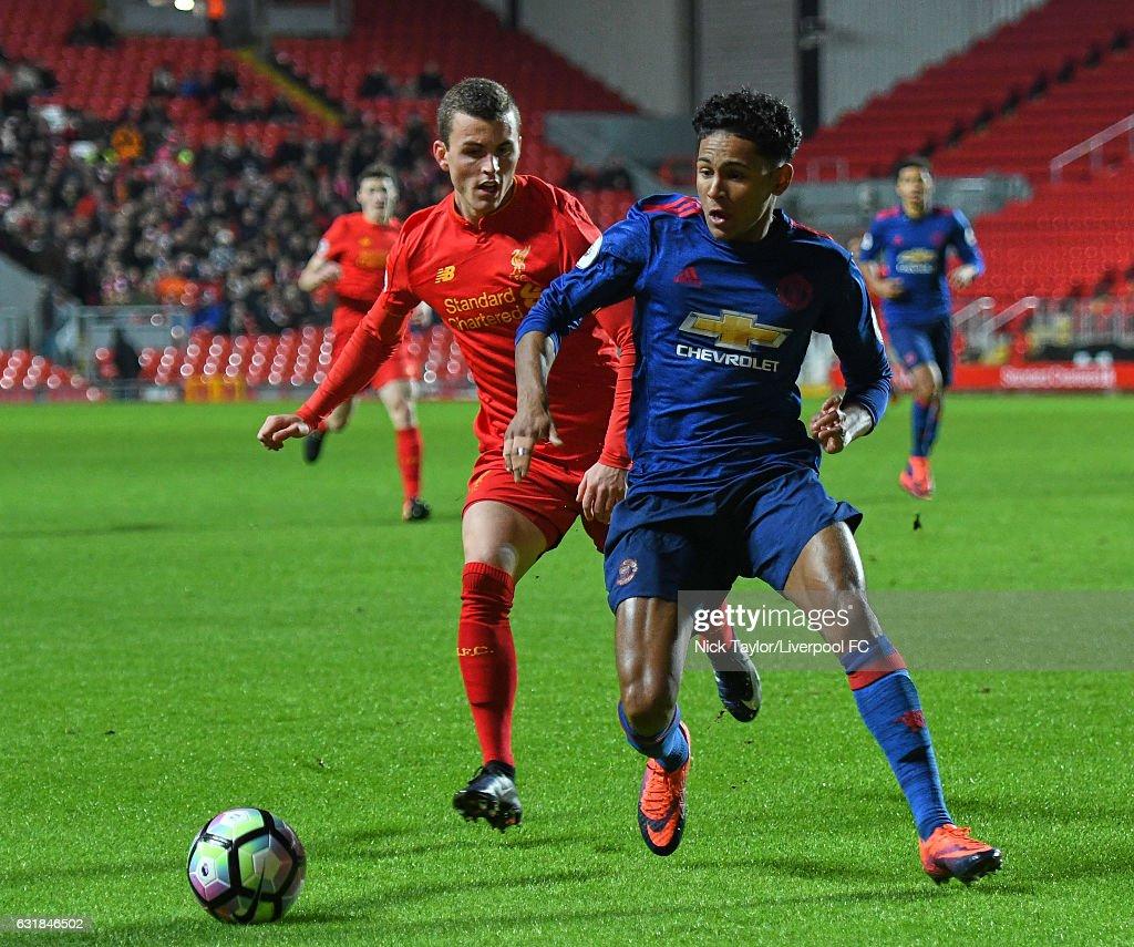 Liverpool v Manchester United: Premier League 2 : News Photo