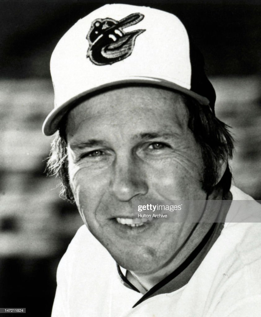 <a gi-track='captionPersonalityLinkClicked' href=/galleries/search?phrase=Brooks+Robinson&family=editorial&specificpeople=213977 ng-click='$event.stopPropagation()'>Brooks Robinson</a> #5 of the Baltimore Orioles poses for a portrait in March, 1975 in Baltimore, Maryland.