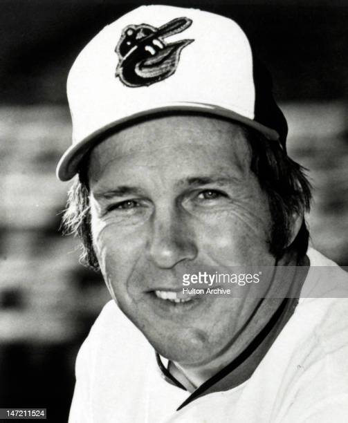 Brooks Robinson of the Baltimore Orioles poses for a portrait in March 1975 in Baltimore Maryland