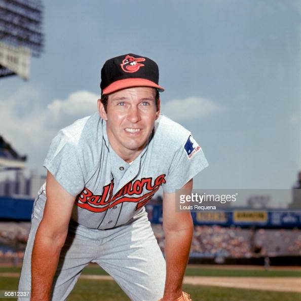 Brooks Robinson of the Baltimore Orioles poses for a portrait Robinson played for the Orioles from 19551977