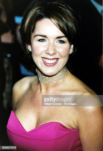 Brookside actress Claire Sweeney arriving for the UK premiere of 'Bridget Jones Diary' at the Empire in London's Leicester Square * 29/4/01 Claire...