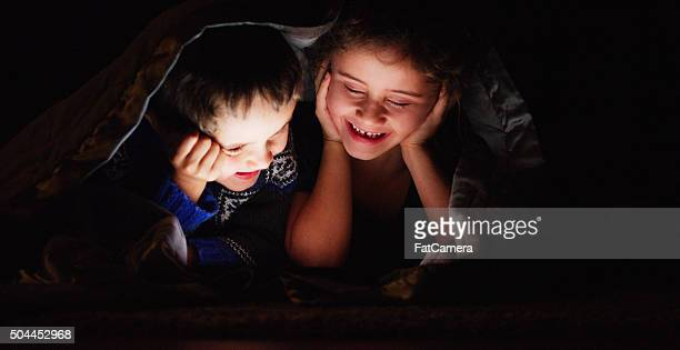 Brother and Sister Movie Night