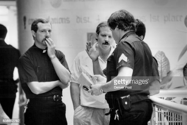 Brother John Fava Denver Police Chaplain arrived at District 4 about 100 in the afternoon to see if he could lend assistance Credit The Denver Post