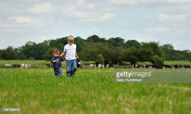 Brotherly stroll