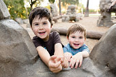 Brothers at Park