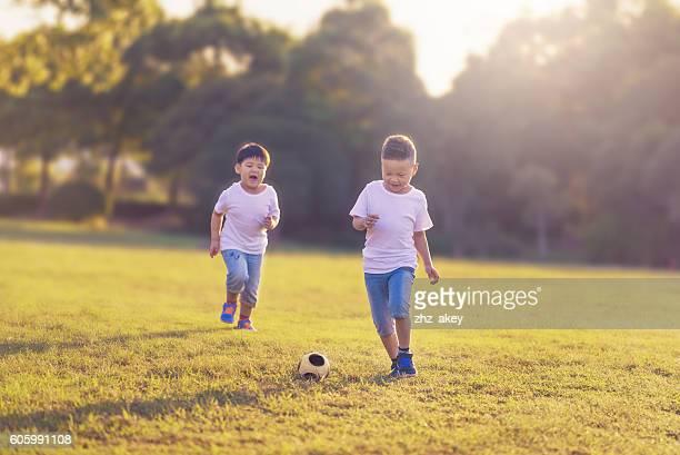 brothers enjoying time