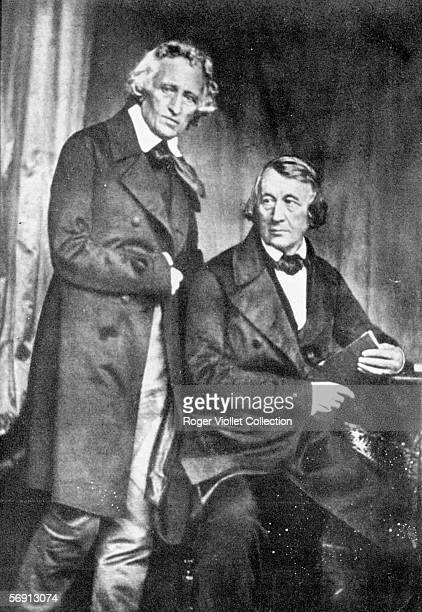 Brothers Jakob and Wilhelm Grimm German writers