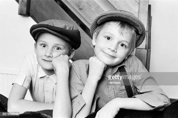 Brothers Jamie and Jonathon Moore have taken on their first television roles in a Thames TV documentary Jamie who is nine later this month and...