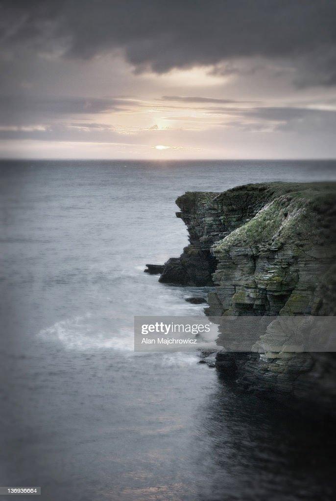 Brough Head, Mainland Orkney Islands Scotland : Stock Photo