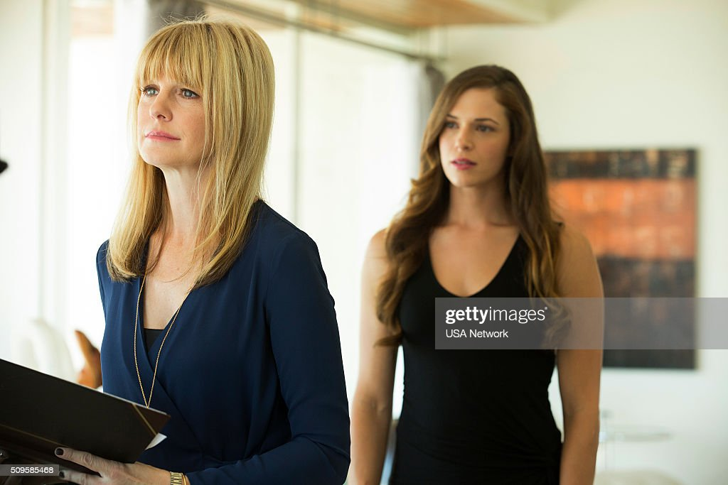 COLONY 'Broussard' Episode 107 Pictured Kathryn Morris as Charlotte Amanda Righetti as Maddie