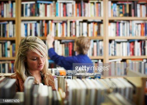 Brown and Bunting bookshop interior, Northcote.