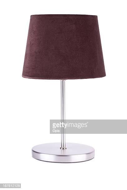 Brown en acier inoxydable et une lampe