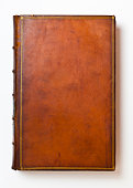 Brown Antique Leather Book Cover