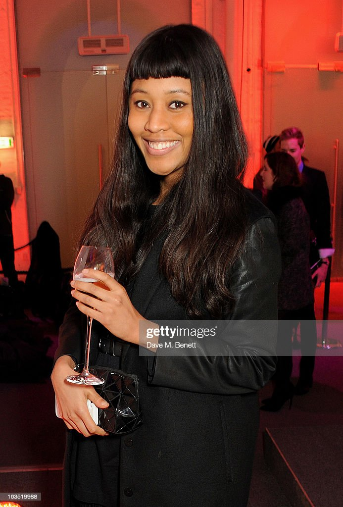 VV Brown attends a party celebrating 30 years of Diet Coke and announcing designer Marc Jacobs as Creative Director for Diet Coke in 2013 at the German Gymnasium Kings Cross on March 11, 2013 in London, England.