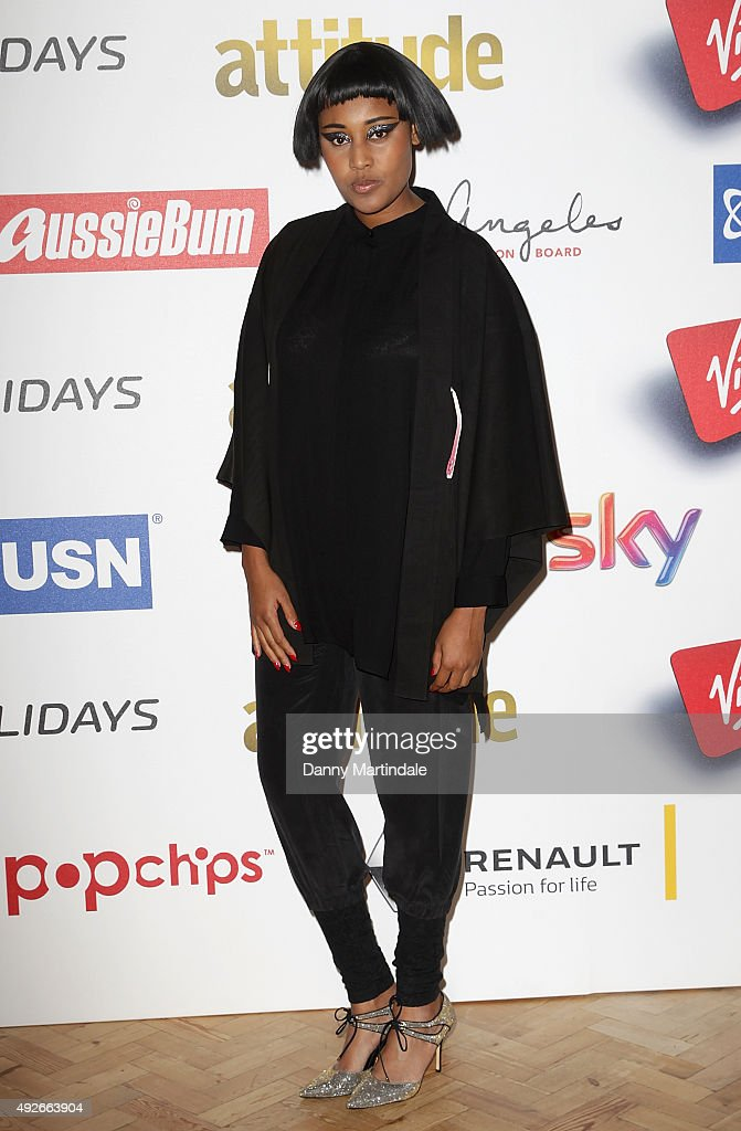 Brown attends the Attitude Magazine Awards at Banqueting House on October 14 2015 in London England