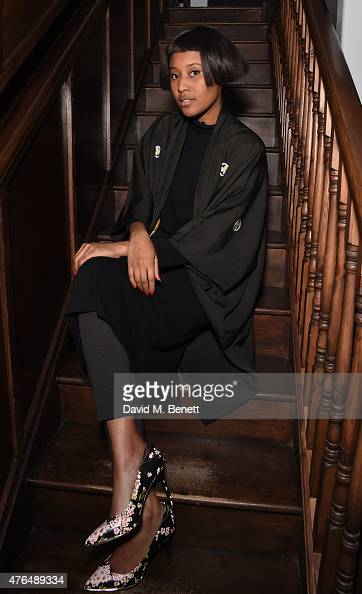 Brown attends the Elephant Haven charity art auction to raise funds for Europe's first Elephant Sanctuary at Library on June 9 2015 in London England
