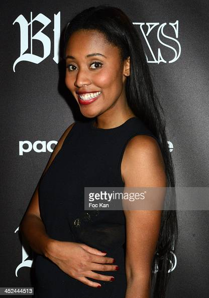 Brown attends The VV Brown Show Case Hosted By Paco Rabanne Excess Diary Perfume at the Tiitty Twister Club on November 28 2013 in Paris France