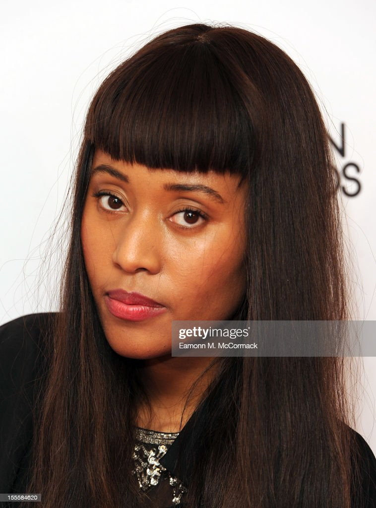 VV Brown attends the WGSN Global Fashion Awards at The Savoy Hotel on November 5, 2012 in London, England.