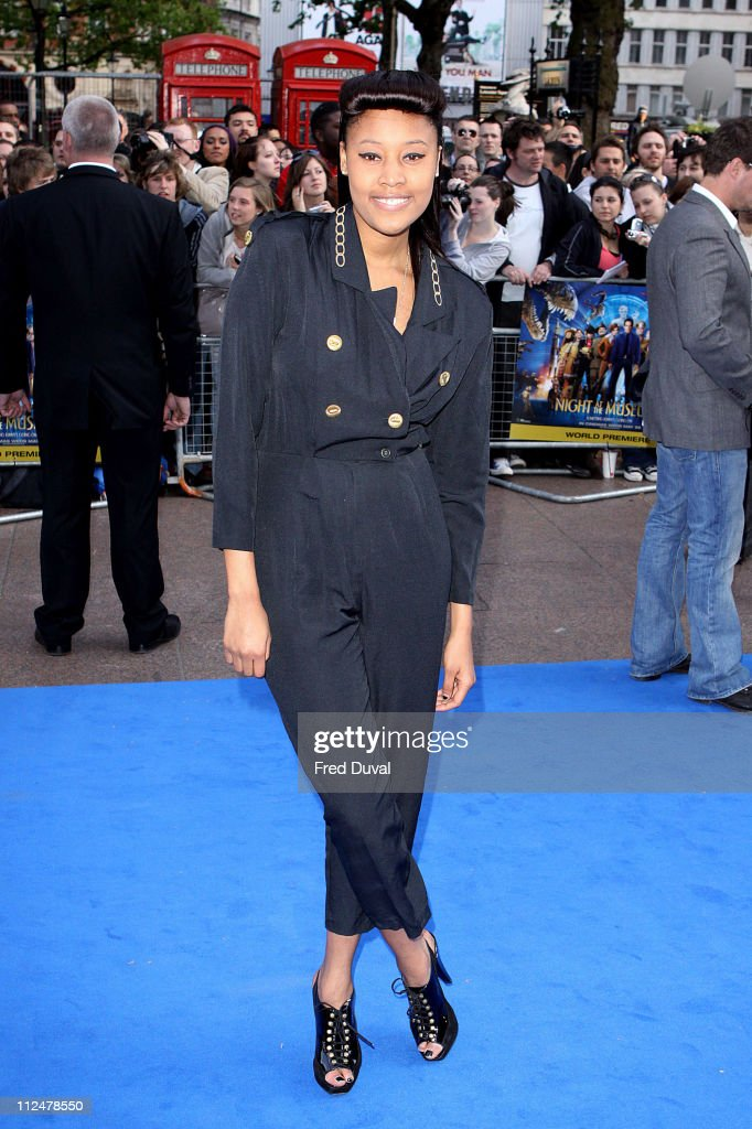 VV Brown attends the world premiere of 'Night at the Museum 2' at Empire Leicester Square on May 12 2009 in London England