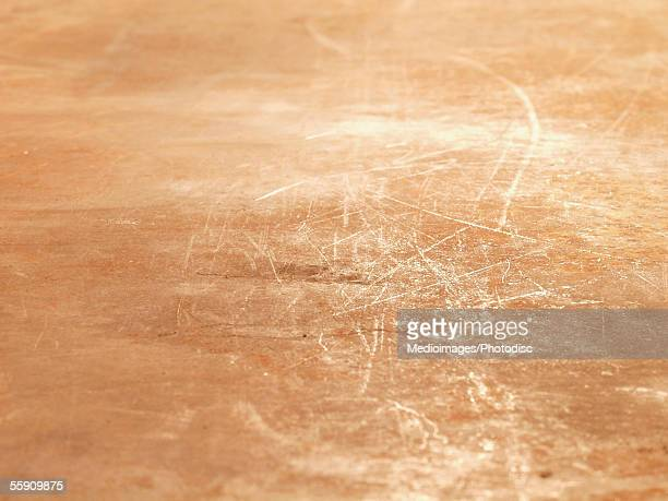 Brown background with scratches