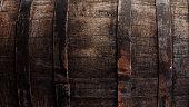 Dark brown barrel closeup