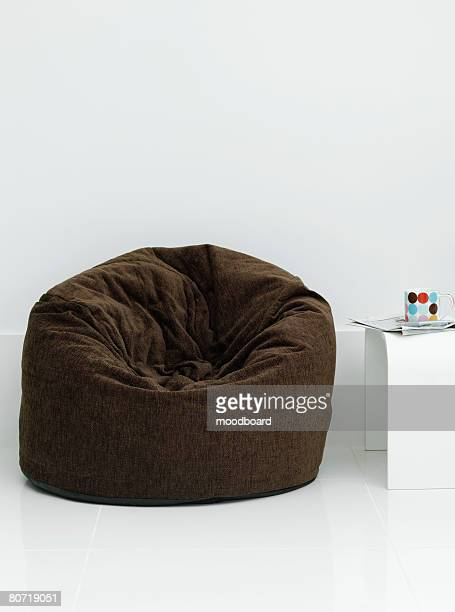 Brown Chair and Table