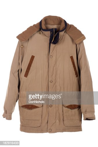 Brown Coat Isolated