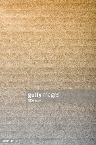 Brun Carton ondulé : Photo