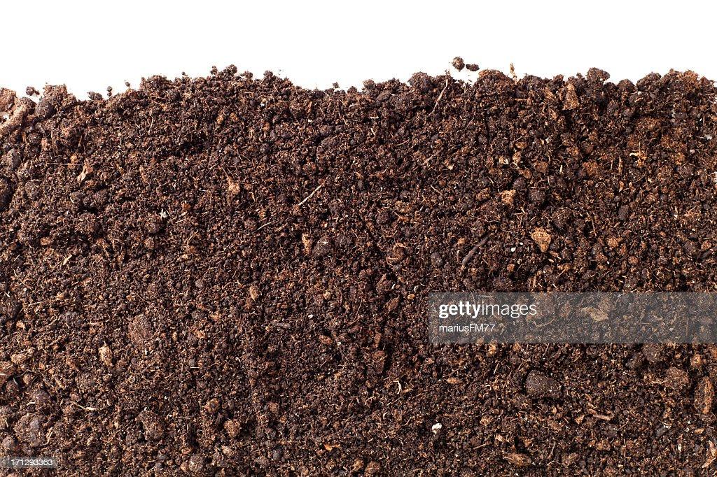 brown dirt