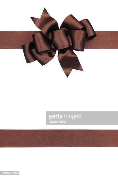 Brown Gift Bow