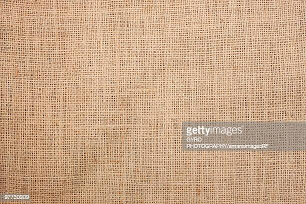 Brown hessian sack