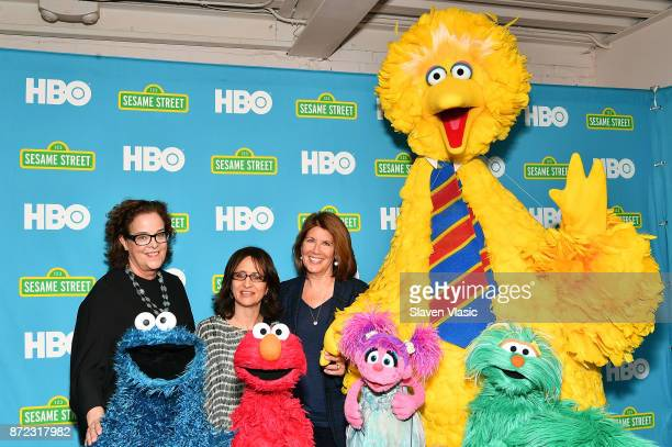 Brown Johnson Executive Vice President and Creative Director at Sesame Workshop Lisa Heller Senior Vice President of HBO Documentary Films and...