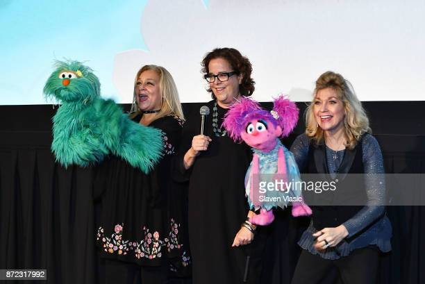 Brown Johnson Executive Vice President and Creative Director at Sesame Workshop attends HBO Premiere of Sesame Street's The Magical Wand Chase at the...