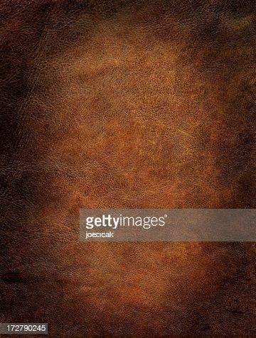 Sfondo di pelle marrone