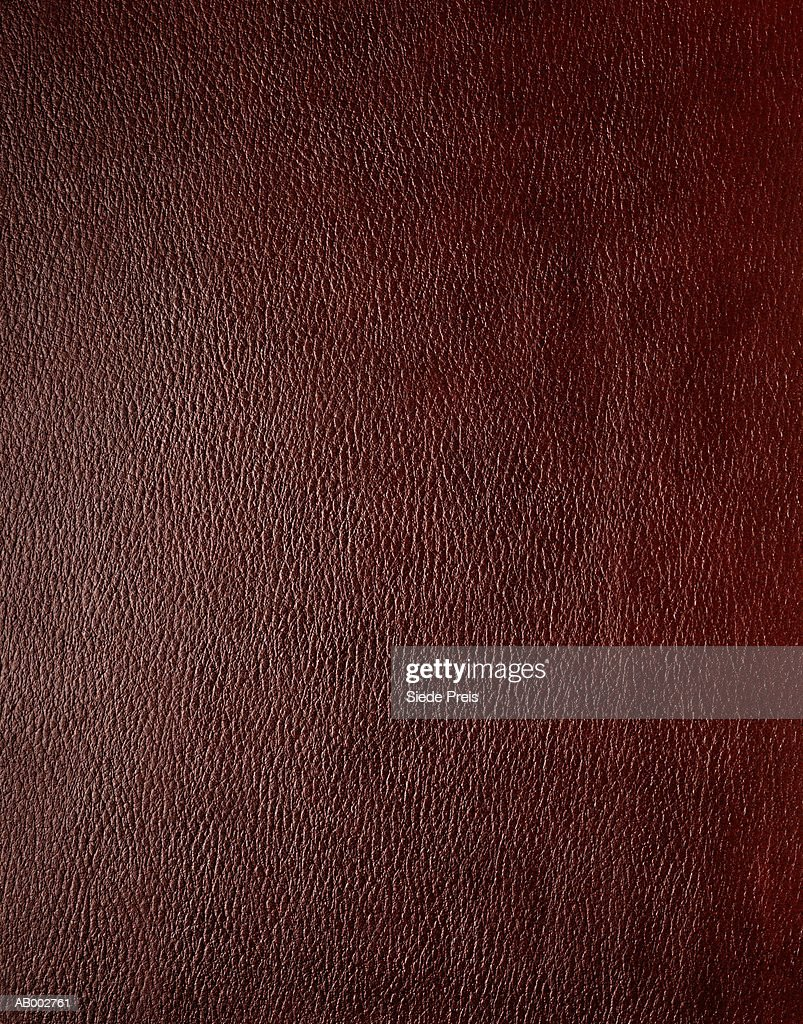 Brown leather, detail, full frame