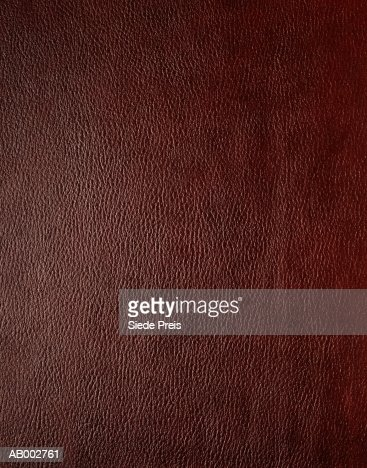Brown leather, detail, full frame : Stock Photo