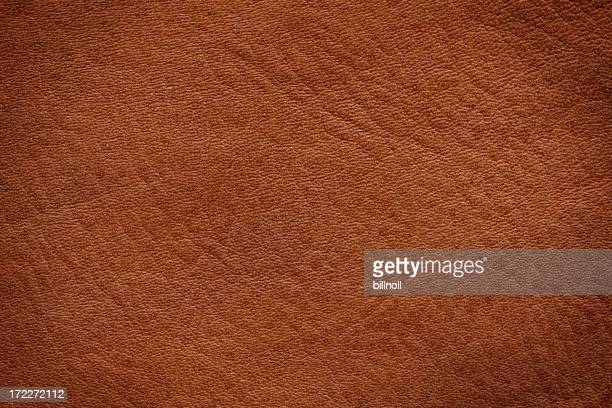 Brown leather texture with slight vignette background texture